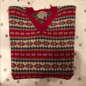 Abercrombie and Fitch Vintage 100% wool sweater